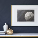 "Art for Sale ""Moon"" / Ink Painting"