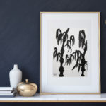 "Art for Sale ""Bamboo"" / Ink Painting"