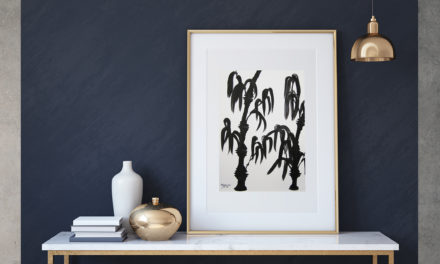 """Art for Sale """"Bamboo"""" / Ink Painting"""